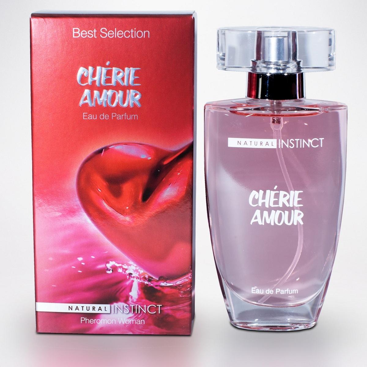 Духи и смазки для женщин: Женские духи с феромонами Natural Instinct Cherie Amour - 50 мл.