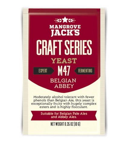 Дрожжи для пива Mangrove jack's - M47 belgian abbey на 23 л