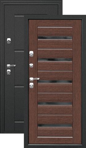 Дверь входная Дверной континент Маэстро, 2 замка, 1,5 мм  металл, венге