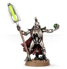 Necron Lord with Resurrection Orb