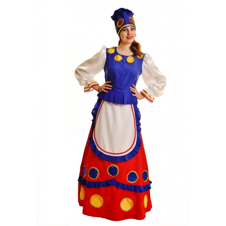 Костюм взрослый Дымка-Масленица