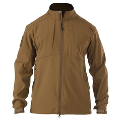 5.11 Jacke Sierra Softshell battle brown