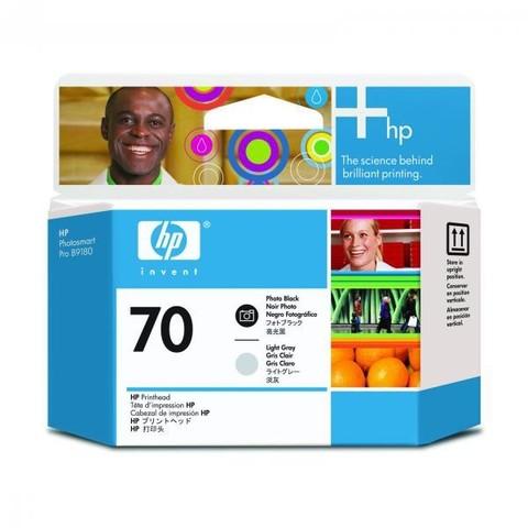 Печатающая головка №70 для HP DesignJet Z2100/Z3100/Z3200 черный и светло-серый (C9407A)