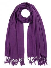 108-95 шарф женский, фиолетовый