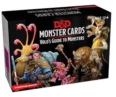 D&D Monster Cards: Volo`s Guide To Monsters (81 Cards)