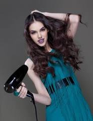 Фен профессиональный с ионизацией HAIR SHOT