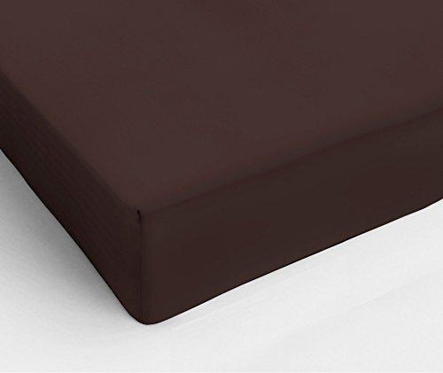 На резинке Простыня на резинке 180x200 Сaleffi Tinta Unito с бордюром коричневая prostynya-na-rezinke-180x200-saleffi-tinta-unito-s-bordyurom-korichnevaya-italiya.jpg