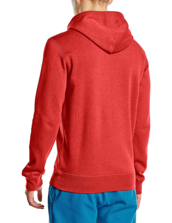 Мужская толстовка асикс Graphic Hoodie (125093 6013) красная
