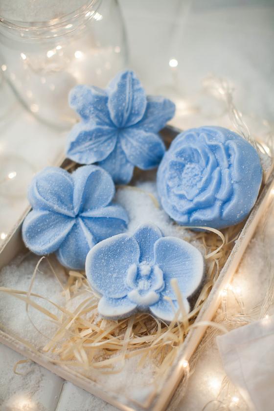 Мыло-цветы ручной работы. Форма Лилия