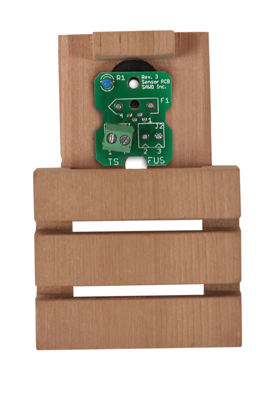 Для печей: Датчик температуры SAWO INN-BTEMP устанавливаемый рядом со скамейками ( для блоков Combi)