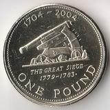 K5164, 2004, Гибралтар, 1 фунт 300 лет британского завоевания