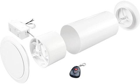 Межкомнатный вентиляционный клапан Marley Heiz-Spar-Set