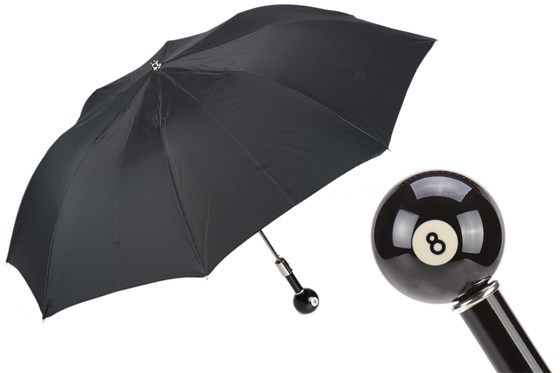 Зонт складной Pasotti Billiard Pool 8-Ball Folding Umbrella, Италия.