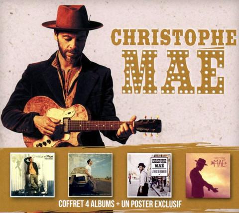 Christophe Mae / Coffret 4 Albums (Limited Edition Box Set)(4CD)