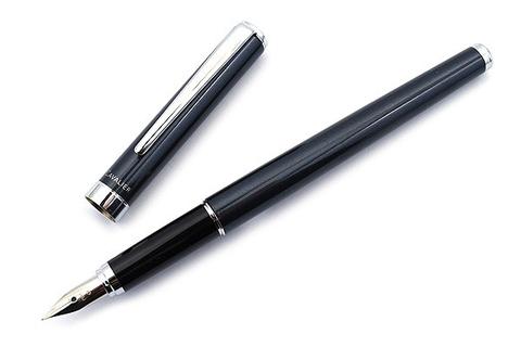 Перьевая ручка Pilot Cavalier 2017 (черная, перо Fine)