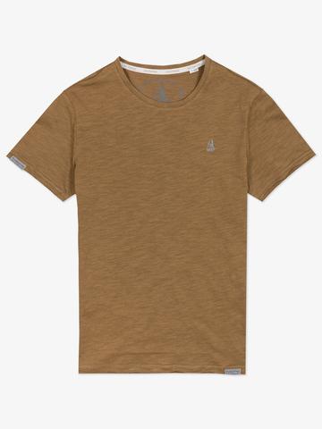 Мужская футболка «Великоросс» фисташкового цвета