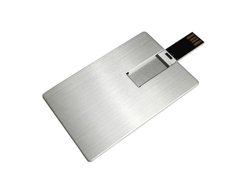 usb-флешка vip визитка металлическая