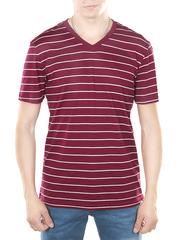 52530-5 футболка мужская, бордовая