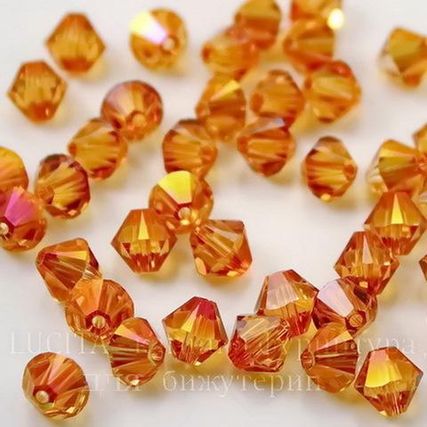 5328 Бусина - биконус Сваровски Crystal Astral Pink  6 мм, 5 штук ()