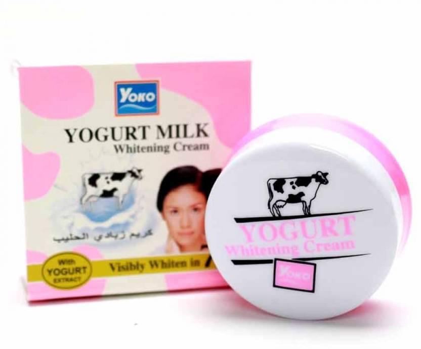 Yoko Отбеливающий крем с Йогуртом Whitening Cream Yogurt Milk, 4 г
