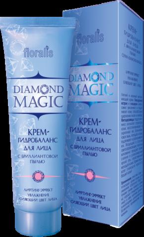 Floralis Diamond Magic Крем-гидробаланс для лица с бриллиантовой пылью 50г