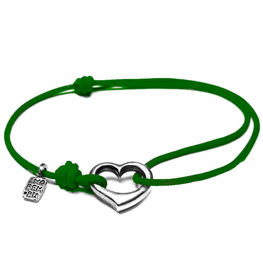 Open heart bracelet, Sterling Silver