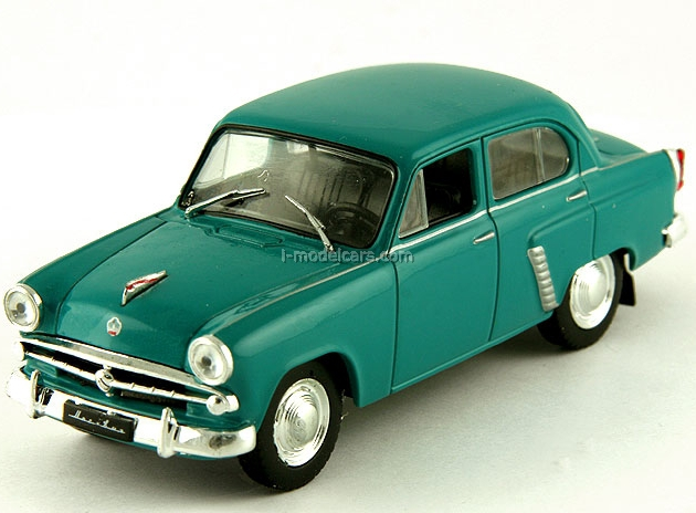 Moskvich-402 blue-green 1:43 DeAgostini Auto Legends USSR #72