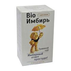 Чай Bio Имбирь+шиповник, 20 пак. (Фора-Фарм)