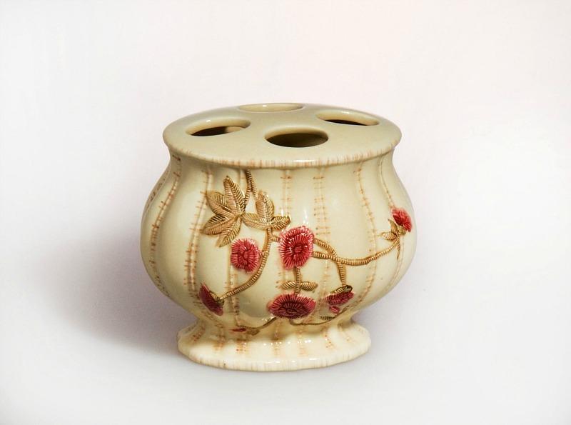 Стаканы для щеток Стакан для зубных щеток Croscill Living Rose Garden stakan-dlya-zubnyh-schetok-croscill-living-rose-garden-ssha-kitay.jpg