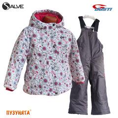 Комплект для девочки зима Salve 5072 dark pink