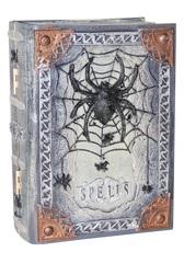 Ужасы Книга заклинаний с подвижным пером декорация Хэллоуин