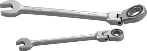 W66114 Ключ гаечный комбинированный трещоточный карданный, 14 мм