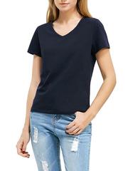 3061-1 футболка женская, синяя