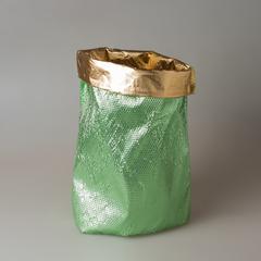 Мешок новогодний зеленый