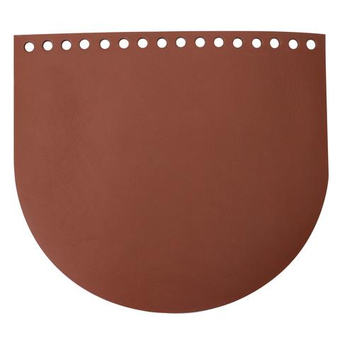 Клапан для сумочки кожаный