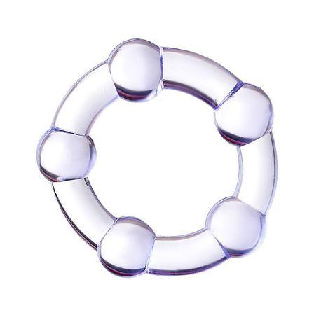 Фиолетовое эрекционное кольцо A-Toys - A-toys 768016