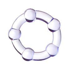 Фиолетовое эрекционное кольцо A-Toys -