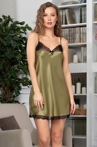 Сорочка женская MIA-Amore OLIVIA ОЛИВИЯ 3641 оливковый