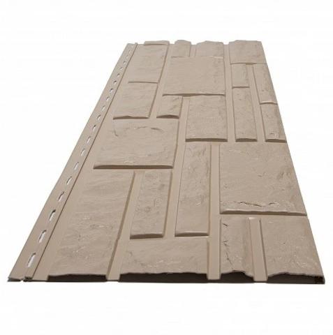 Фасадная панель Доломит Rockvin Орех 3000х260 мм