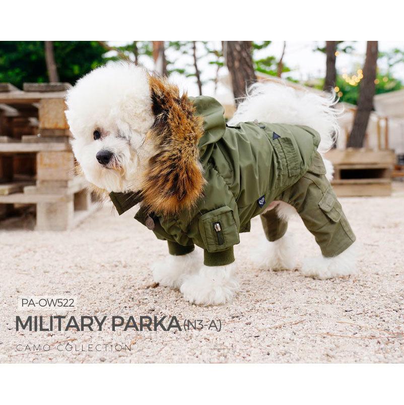 куртка парка для бишона