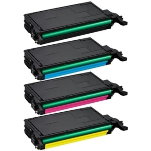 Набор совместимых картриджей CLT-K508L для принтеров Samsung CLP-615/CLP-620ND/CLP-670N/CLP-670ND/CLX-6220FX/CLX-6250FX