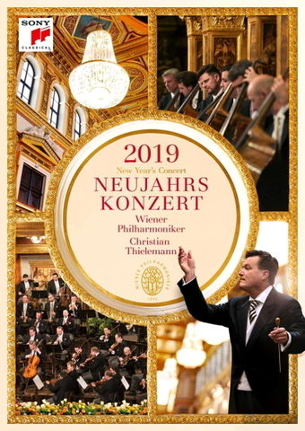 Vienna Philharmonic, Christian Thielemann / New Year's Concert 2019 (DVD)