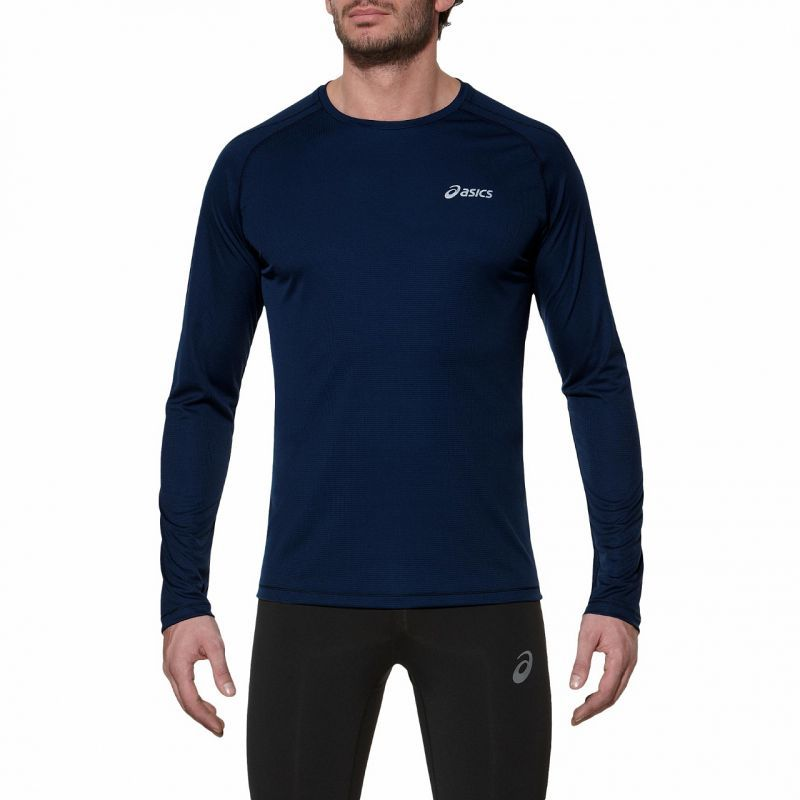 Мужская рубашка для бега Asics LS Crew (114510 8052)