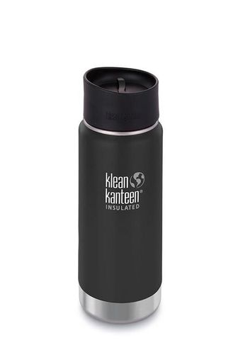 Термобутылка Klean Kanteen Insulated Wide Cafe Cap 16oz (473 мл) Shale Black