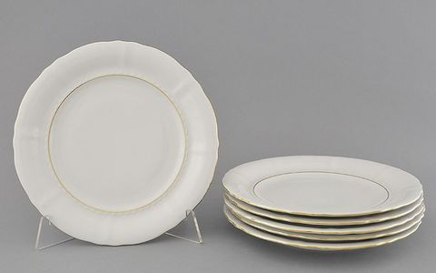 Набор тарелок десертных 19 см 6 штук Сабина Leander
