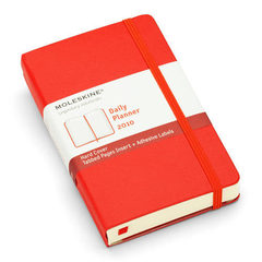 Moleskine Red Daily Pocket 2010