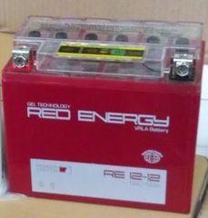 Аккумулятор 12V 12Ah (RE1212.1) RED ENERGY с индикатором заряда