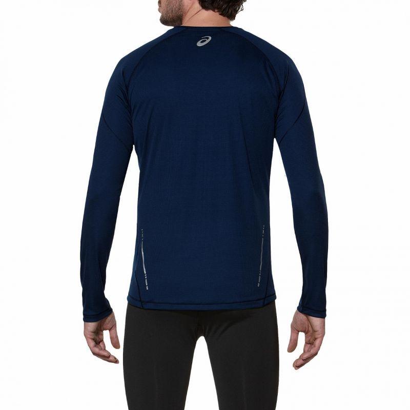 Мужская беговая рубашка Asics LS Crew (114510 8052)  фото