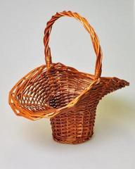 Плетеная корзина 6097 s темная