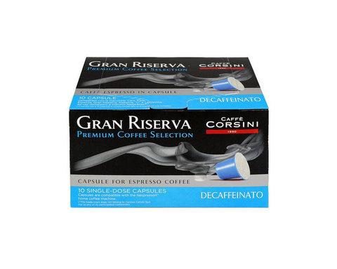 Кофе в капсулах Caffe Corsini Gran Riserva Decaffeinato